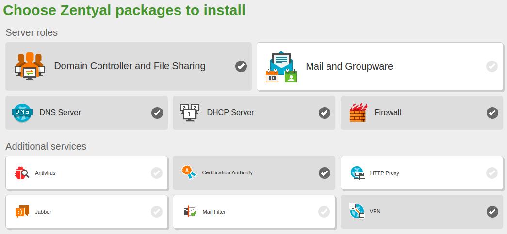 En/5 0/Installation - Zentyal Linux Small Business Server