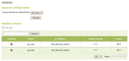 En/2 2/Network authentication service (RADIUS) - Zentyal