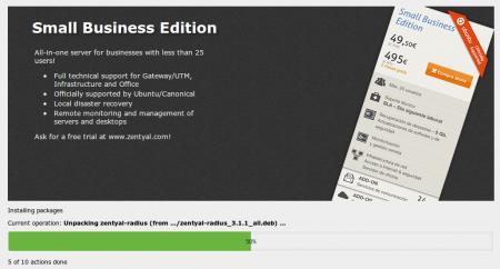 En/3 5/Installation - Zentyal Linux Small Business Server